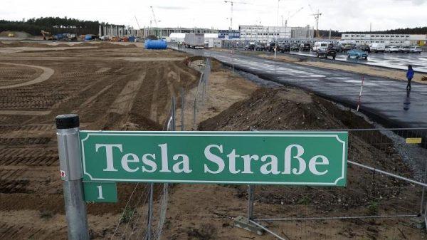 Tesla Strasse Brandenburg