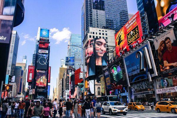 times square, nyc, city