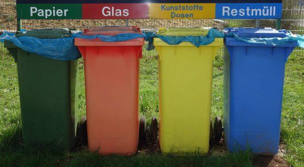 waste separation, mülltonnen, recycling