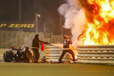 Accident Grosjean