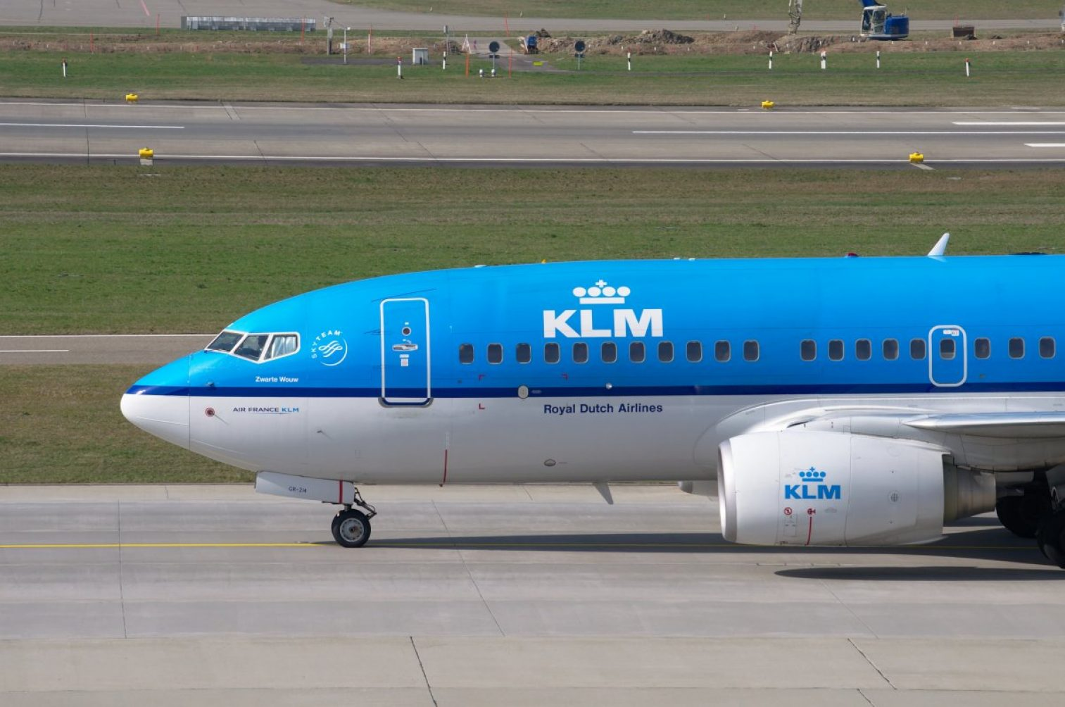 aircraft, klm, boeing 737
