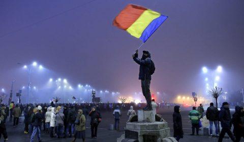 Romania Corruption Protests 1