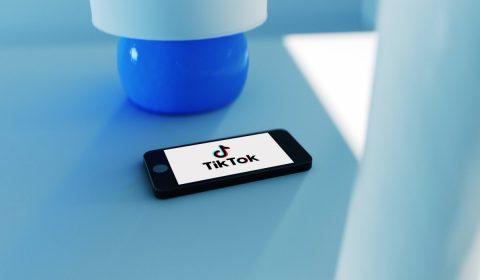 tiktok, social media, smartphone
