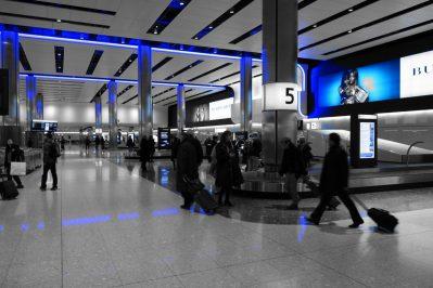 baggage hall, heathrow, airport