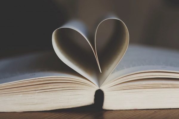 book, open, book pages