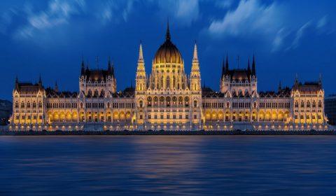 budapest, hungarian parliament, danube