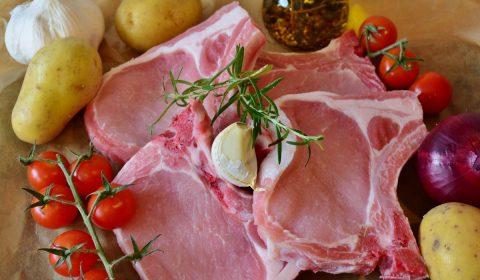 chops, pig, pork chop
