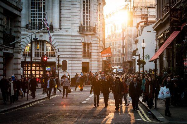 city, street, people