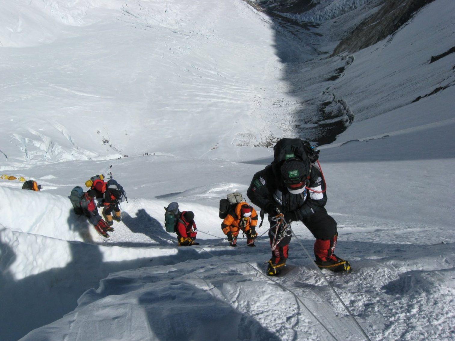 mount everest, mountains, winter