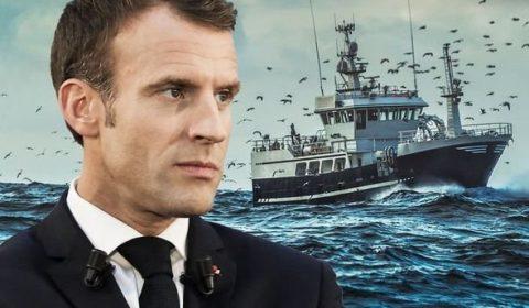 Pescari Macron Franta