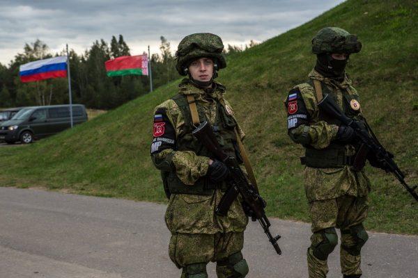 Russia Military Belarus Exercises