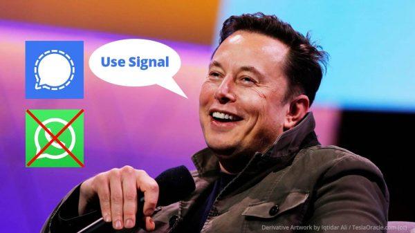 Elon Musk Use Signal