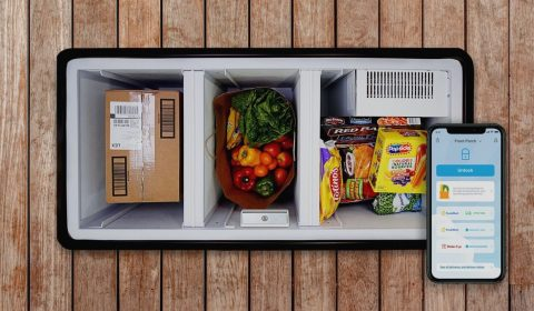 Homevalet Grocery Box Insid