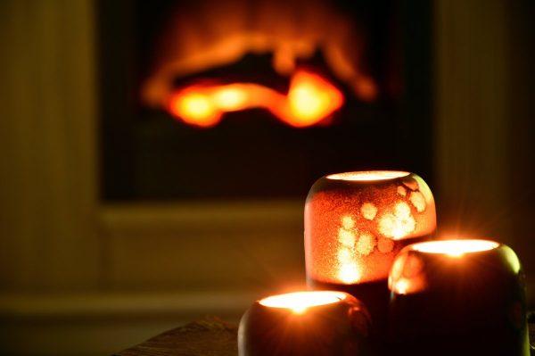 candles, candlelight, tea lights
