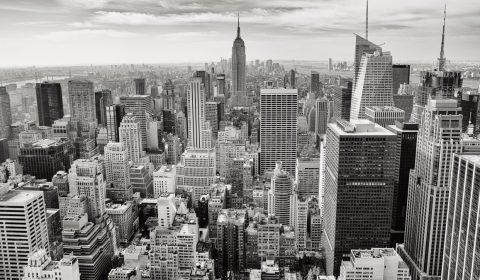 city, buildings, towers