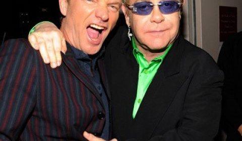 Sting Elton John Crop