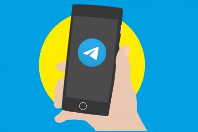 telegram, social network, banner