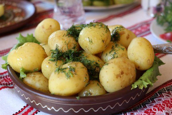 ukraine, potatoes, dill