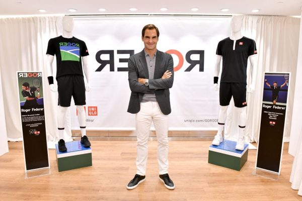 Roger Federer Launches A New Uniqlo Lifewear Collection