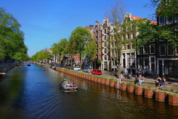 amsterdam, canal, city