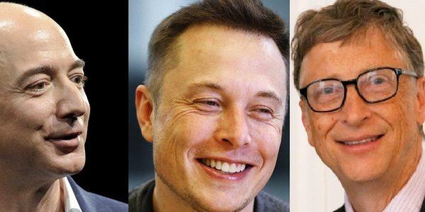 Bezos Musk Gates
