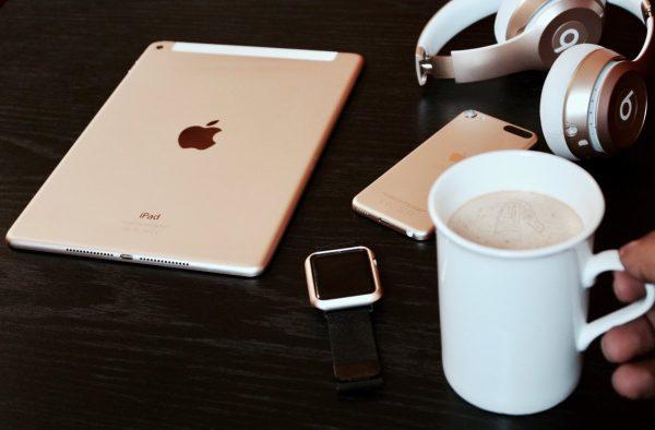 cafe, apple, food
