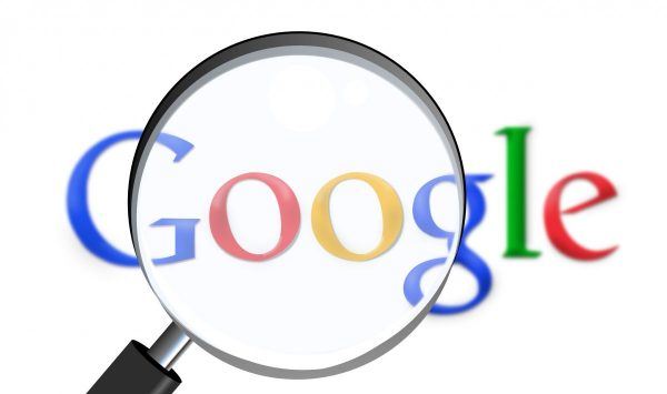 google, search engine, magnifying glass