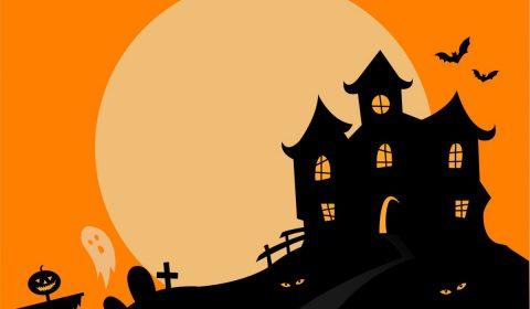 haunted house, halloween, haunted