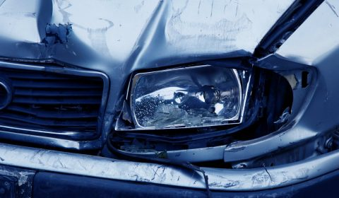 headlamp, accident, auto