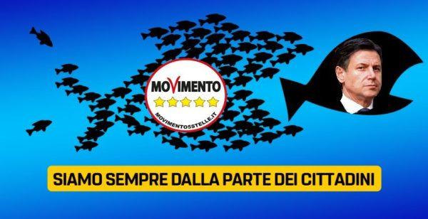 Movimento 5 Stelle Giuseppe Conte