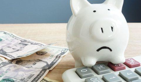 Piggy Bank Money Stress