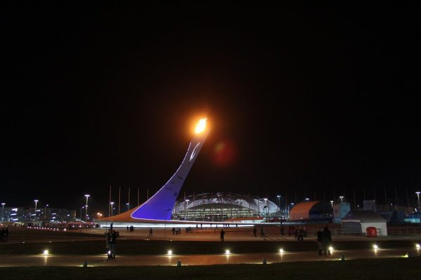 sochi, the olympic flame, torch