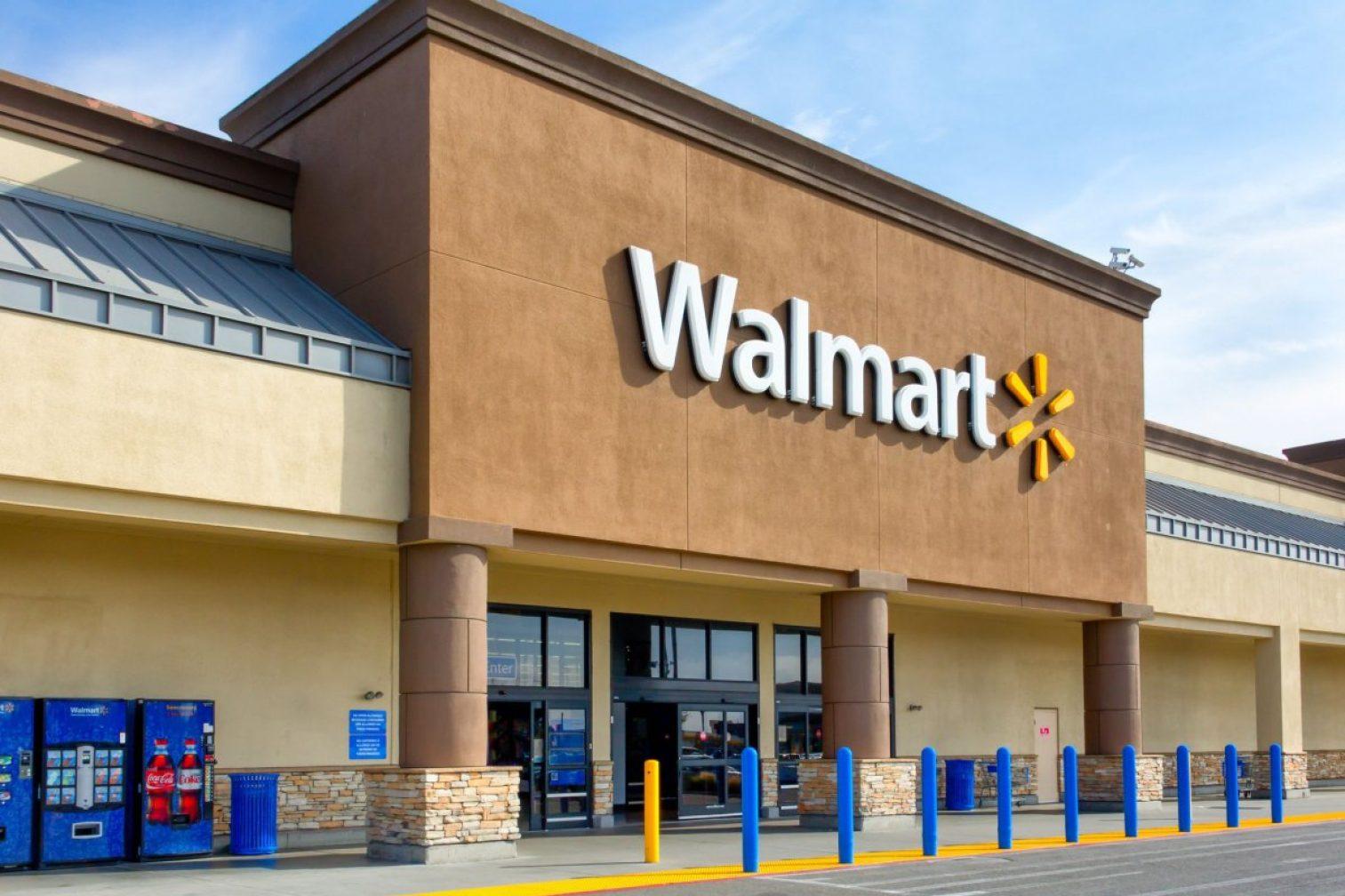 Walmart Store Exterior Royalty Free Image 1584370149