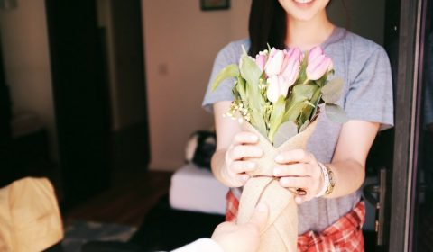 bouquet, flowers, gift