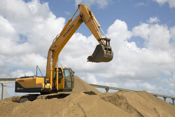 excavation, power shovel, excavator