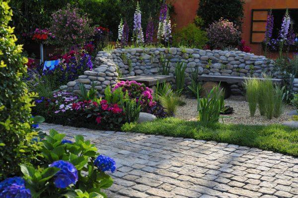 garden, yard, courtyard