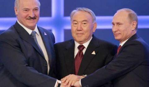 Nazarbayev Lukasenko Putin
