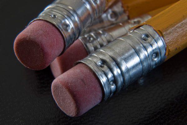 pencil, pencils, eraser
