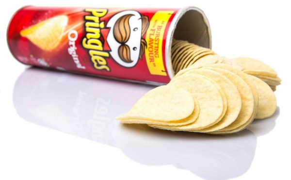 Pringles Can Opened 1200