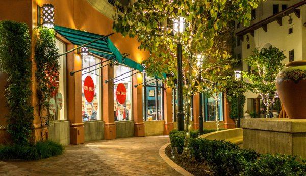 shopping, plaza, business