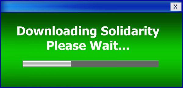 solidarity, download, wait