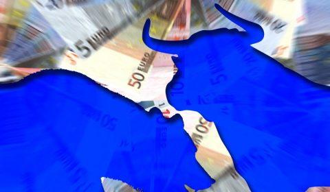 stock exchange, bull, bear