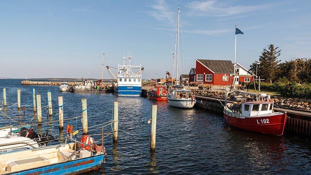 Oddesund Lystbdehavn Thyholm