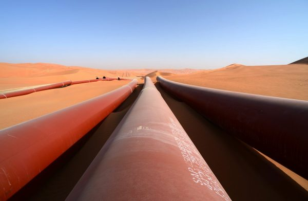 Shaybah Pipelines 4