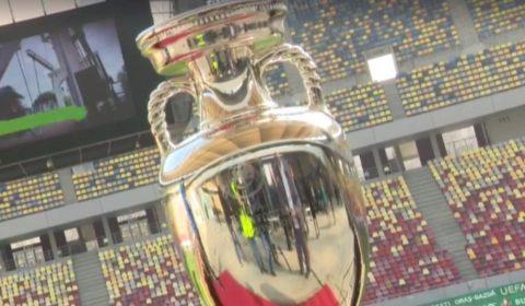 Trofeul Uefa Euro 2020 Bucuresti Arena Nationala (1)