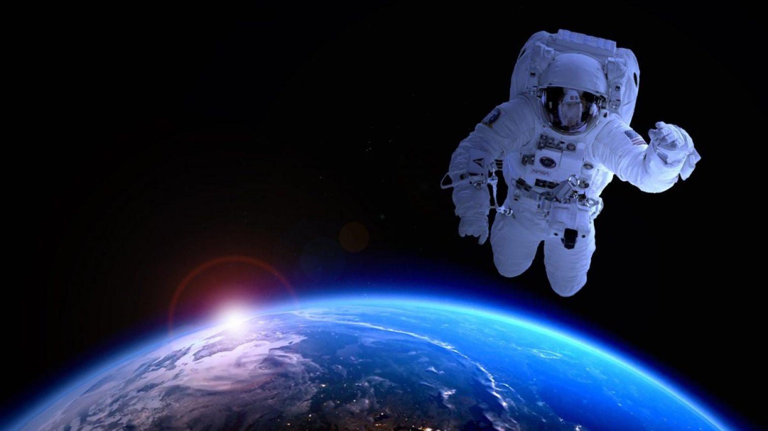 astronaut, astronomy, satellite