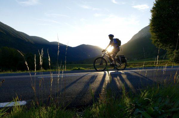 bike, electric, setting