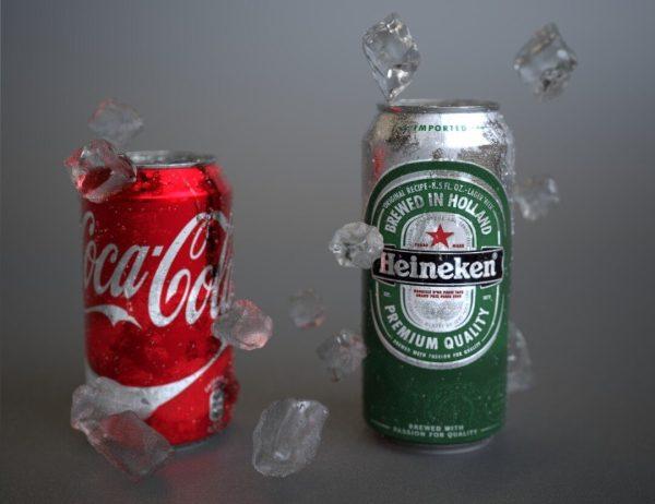 Coca Cola Heineken Crop