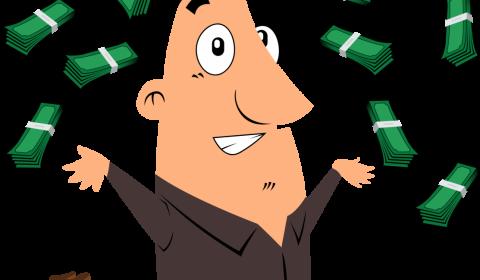 man, cash, money