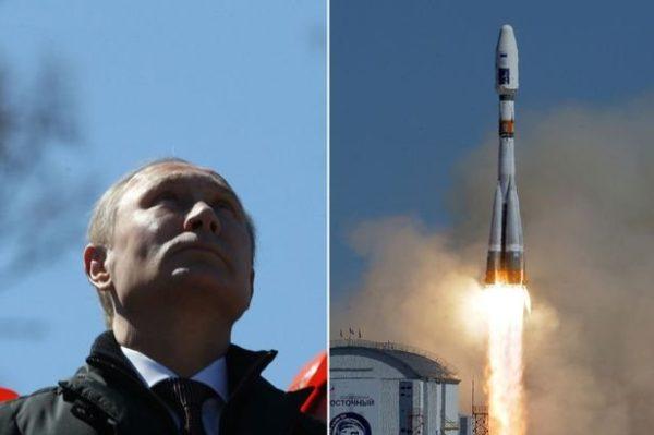 Putin Soyuz Rocket